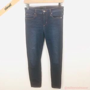 [Joe's Jeans] Dark Wash Mid-Rise Skinny Ankle Jean